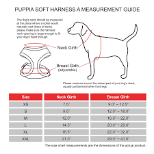Buy Authentic Puppia Soft Dog Harness Red Medium Online