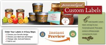 custom labeling stickers professionally printed food labels beverage labels canning labels