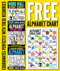 Free Alphabet Chart For Students