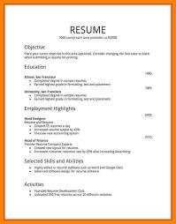 10 Simple Resume Format In Word Resume Layout Microsoft Word