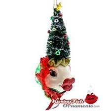 Christmas Tree Kissing Fish Ornament from Katherine's Holiday Collection  will be a great addition to your