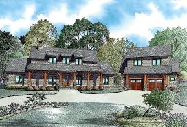 House Plan at FamilyHomePlans comCountry Craftsman Farmhouse House Plan Elevation