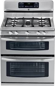 DoubleOven Gas Range  Stainless Steel  Sears Outlet