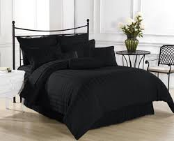 bedroom perfect solid black bedding set featuring white bedside with regard to black bedding sets black