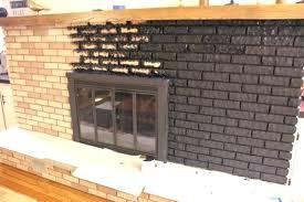 black brick fireplace black painted fireplace 3 black brick around fireplace black brick fireplace