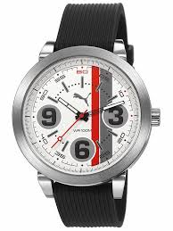 17 best images about puma watches models shape and puma pu103361002 369 silver mens watch uhrcenter 90€