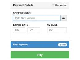 automatic withdrawal form template bootstrap payment examples