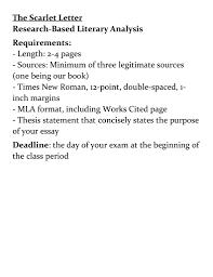 Mla Format Works Cited Scarlet Letter Cutabovegroomingsalon Us