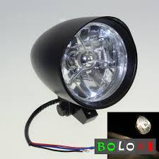 Bullet Lights For Harley Davidson Details About 4 5 Black Visor Bullet Headlight Head Light For Harley Davidson Twins Chopper