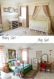 baby girl room furniture. Little Girl\u0027s Bold And Eclectic Bedroom Via MakelyHome.com Baby Girl Room Furniture .