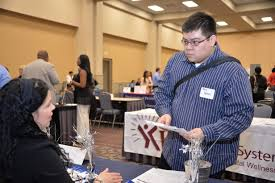 in search of the dream job al d iacute a news steve galeas went to the septa table to out about job opportunities photo