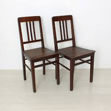 vintage wooden chairs 1920s set of 2 for at pamono wooden chairs