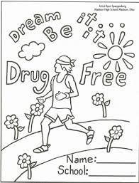 Red Ribbon Color Pages Just Say No Coloring Pages Just Say No Coloring Pages