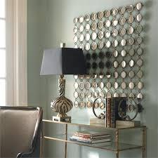 Chic Mirror Wall Art 5 Piece Set Metal Wall Mirror Decor Wall Design