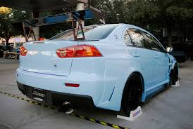 2018 mitsubishi lancer evo x. plain 2018 aeromotion r2 static wing on lancer evolution at sema intended 2018 mitsubishi lancer evo x