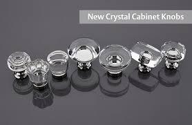 crystal furniture knobs. Emtek Clear Crystal Cabinet Knobs Furniture O