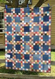 4035 best Quilting Ideas images on Pinterest | At home, Bathroom ... & Another idea for denim quilt