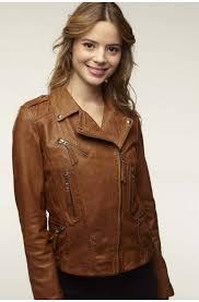 rock style lambskin jacket