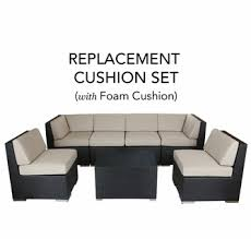 plete replacement cushion covers