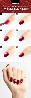 For Christmas Best 25 Nail Designs For Christmas Ideas On Pinterest Nail Art
