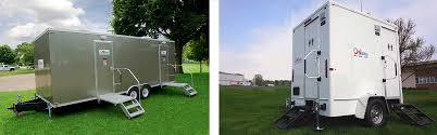 Luxury Portable Restroom Trailers For Rent On Site Co - Luxury portable bathrooms