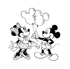 Coloriages Mickey Et Minnie A Imprimerl