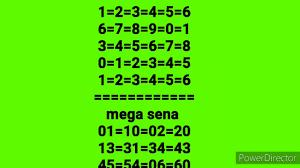 Mini tabela da mega sena concurso2332=2333=2334=2335=2336=2337=2338=2339=2340  - YouTube