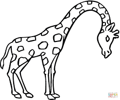 Printable Coloring Pages coloring page giraffe : Giraffes coloring pages | Free Coloring Pages