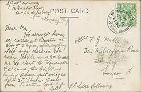 Mrs F G Hall. 34 Waldegrave Road, London. 1914 QS.302 | eBay