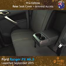 custom fit waterproof neoprene ford ranger rear seat cover