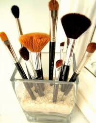 decorative way to your makeup brushes you can use all types of holders