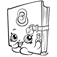 Coloring Pages Free Coloring Pages Shopkins Printable Linearts For