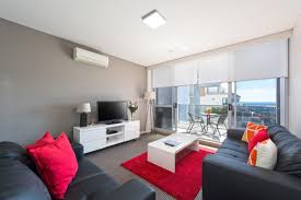 1 bedroom serviced furnished apartment North Sydney - Living