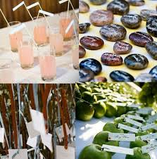cool escort cards drinks, stones, hanging cards, apples from Rustic Wedding Table Place Cards cool escort cards drinks, stones, hanging cards, apples from · wedding place rustic wedding place cards
