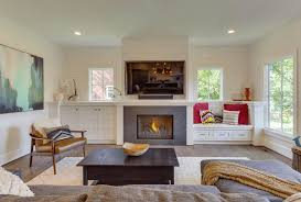 small living room fireplace tv new beautiful living rooms with built in shelving