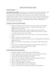 Medical Billing Coding Job Description – Resume Bank