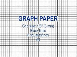 Graph Paper Printable 3 Mm Grid Cross Stitch Design 8 Squares Per Inch Black Lines A4 Instant Download Pdf