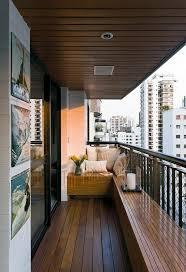 narrow balcony furniture. Balcony Furniture Small Modern Benches Lacquered Wood Ideas Narrow