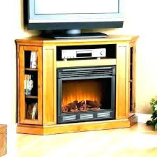 electric corner fireplace stand stone white tv claremont s