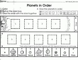 Color Cut And Paste Worksheets For Kindergarten Ending Math ...