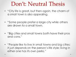 "small town essay presentation ""big city small town"" persuasive essay debrief"