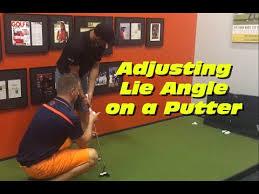 Putter Lie Angle Chart Adjusting Lie Angle On A Putter