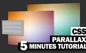 Stunning Pure CSS Parallax Scrolling Effect Tutorial | Red Stapler