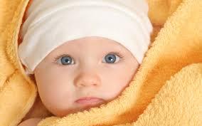cute baby in blanket hd wallpaper