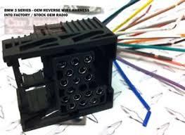 bmw 3 series radio wiring diagram not lossing wiring diagram • oem stock radio wiring harness install bmw 3 series rh com 2000 bmw stereo wiring diagram 2002 bmw radio wiring diagram