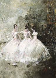 Waiting in the Wings – print   Wendy Richards Art