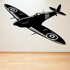 fighter planes wall art