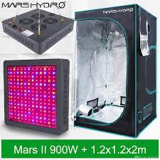 Indoor Grow Box With Lights Mars Ii 900 Led Grow Light Plant Hydroponics Lamp 120 120 200 Indoor Grow Tent Grow Box For Hydroponics Lamp Growing Lights Grow Lights For Indoor