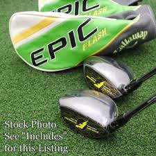 Details About Callaway Golf Epic Flash Fairway Wds Choose Loft Set Make Up Shaft Model Flex