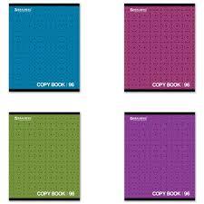 <b>Тетрадь</b> А5, 96 л., <b>BRAUBERG ЭКО</b>, клетка, обложка картон ...